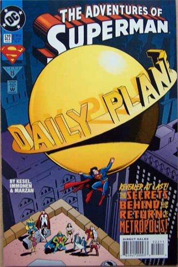 The Adventures of Superman Comic Book - No. 522 April 1995