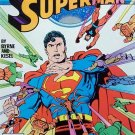 Superman Comic Book - No. 13 January 1988