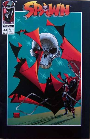 Spawn Comic Book - No. 22 June 1994