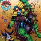 Judge Dredd Comic Book - No. 6 January 1995
