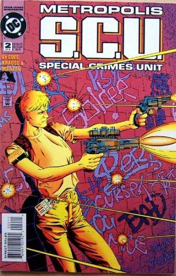 Metropolis S.C.U. Comic Book - No. 2 December 1994