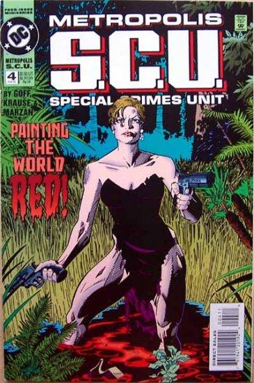 Metropolis S.C.U. Comic Book - No. 4 February 1995