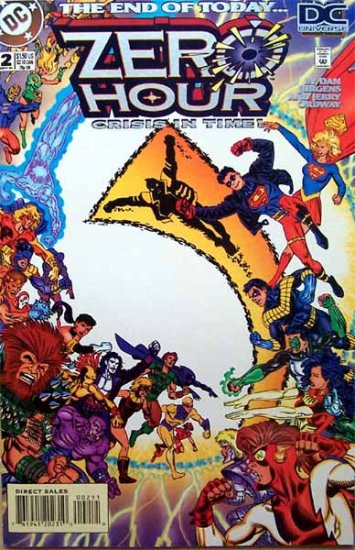 Zero Hour Crisis in Time Comic Book - No. 2 September 1994