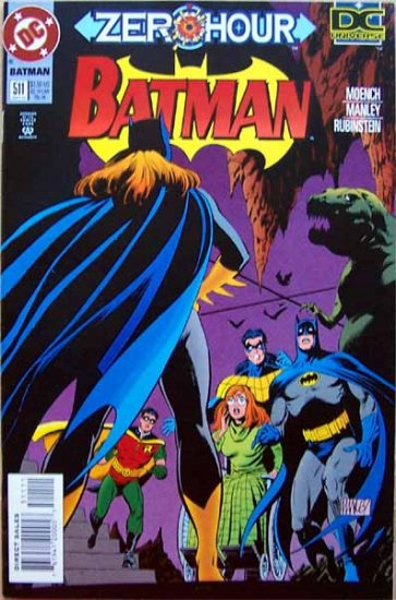 Batman Comic Book - No. 511 September 1994