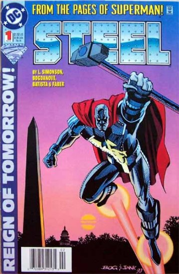 Steel Comic Book - No. 1 February 1994