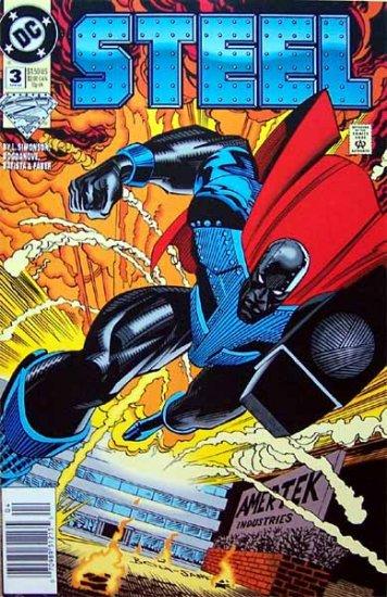 Steel Comic Book - No. 3 April 1994