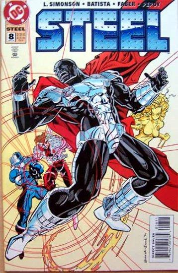Steel Comic Book - No. 8 September 1994