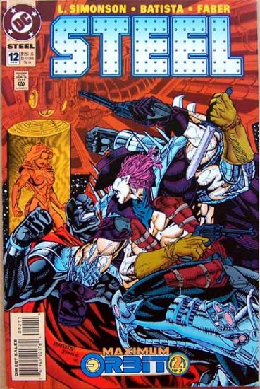 Steel Comic Book - No. 12 February 1995