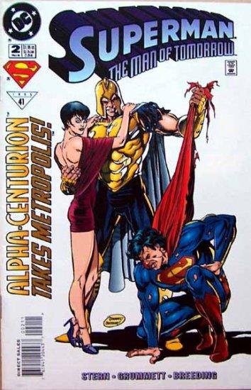 Superman The Man of Tomorrow Comic Book - No. 2 Fall 1995