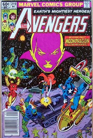 The Avengers Comic Book - No. 219 May 1982
