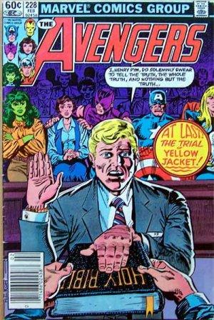 The Avengers Comic Book - No. 228 February 1983