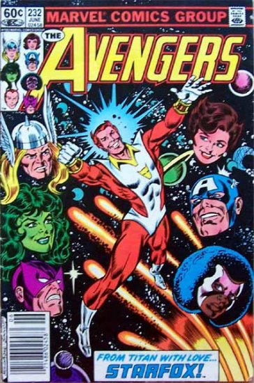 The Avengers Comic Book - No. 232 June 1983
