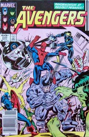 The Avengers Comic Book - No. 237 November 1983