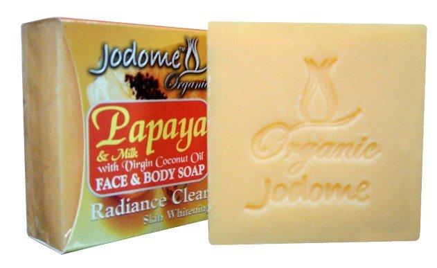 Jodome Papaya & Milk Soap