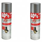 (2x) Kiwi All Protector Rain & Stain Cleaner Leather Suede Nubuck 7.7 oz