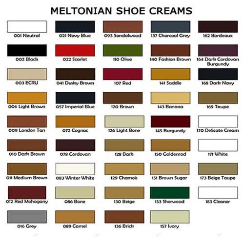 Meltonian Boot And Shoe Cream Polish Uk