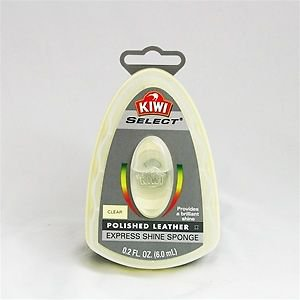 Kiwi Select Express Shoe Shine Sponge Clear Color