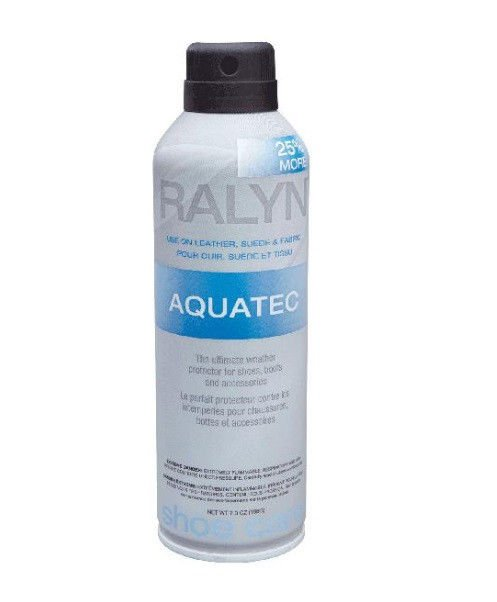 Ralyn Aquatec Water Stain Protector Leather Suede Nubuck Aquatic 7oz.