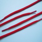 """(2 Pairs) Athletic Round Shoe Laces Shoelaces Sport Sneakers Boots Strings 3/16"""" Red Color 45"""""""