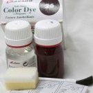 Tarrago Leather Color Dye Kit with Preparer Canvas Imitiation Dark Burgundy Color