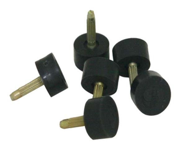 Supertap Lux High Heel Tips Quality PinsTop Lift Taps Pump Dowels Repair Black 50 Pair 17 Size