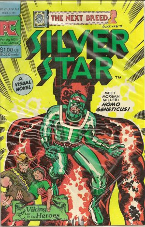 SILVER STAR ISSUE 1 PC JACK KIRBY