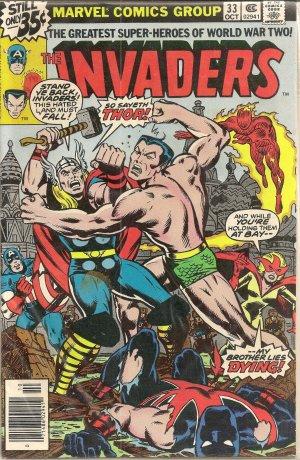 INVADERS ISSUE 33 MARVEL COMICS