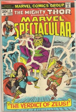 MARVEL SPECTACULAR ISSUE 2 MARVEL VERDICT OF ZEUS