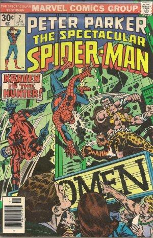 PETER PARKER SPECTACULAR SPIDERMAN ISSUE 2 MARVEL