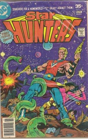 STAR HUNTERS ISSUE ONE DC COMICS