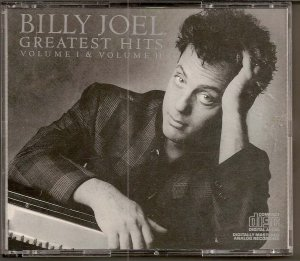 BILLY JOEL GREATES HITS VOLUME ONE AND TWO CD SET