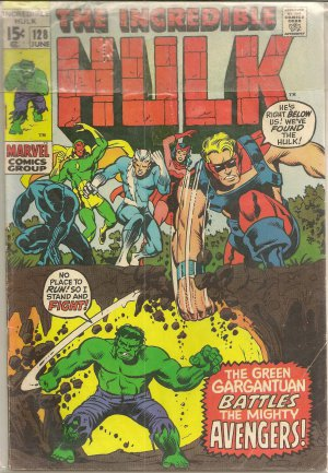 THE INCREDIBLE HULK ISSUE 128