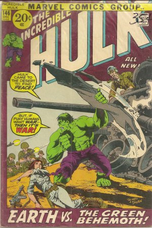 THE INCREDIBLE HULK ISSUE 146 MARVEL COMICS