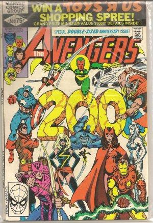 THE AVENGERS ISSUE 200 MARVEL COMICS