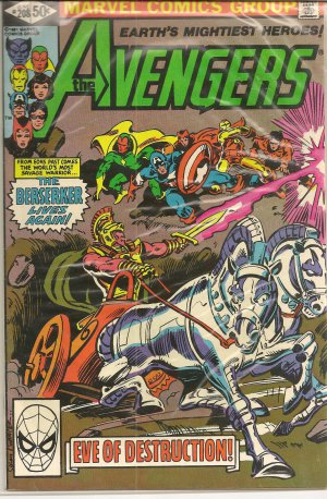 THE AVENGERS ISSUE 208