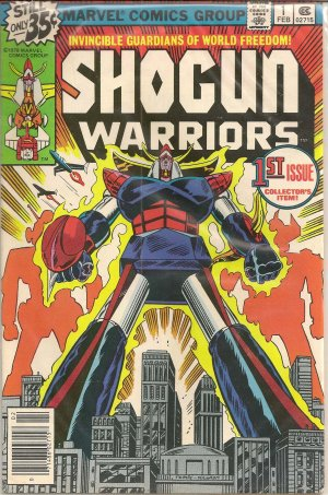 SHOGUN WARRIORS ISSUE 1 MARVEL COMICS