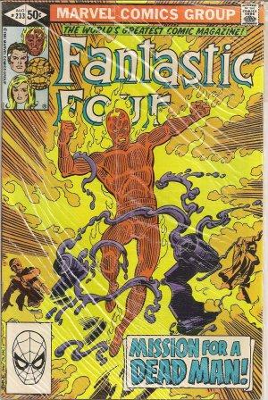 FANTASTIC FOUR ISSUE 233 MARVEL COMICS