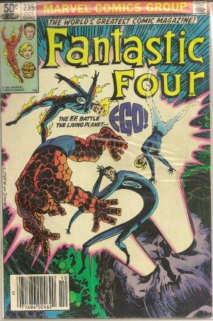 FANTASTIC FOUR ISSUE 235 MARVEL COMICS