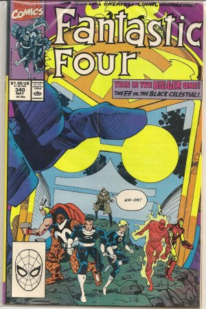 FANTASTIC FOUR ISSUE 340 MARVEL COMICS