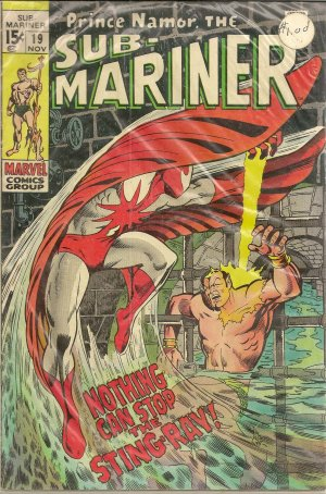 SUB-MARINER ISSUE 19 MARVEL COMICS