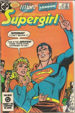 NEW ADVENTURES OF SUPERGIRL ISSUE 20 DC