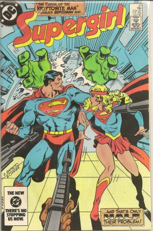 NEW ADVENTURES OF SUPERGIRL ISSUE 21