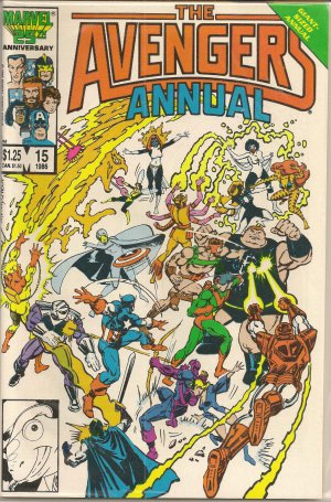 AVENGERS ANNUAL ISSUE 15 MARVEL COMICS