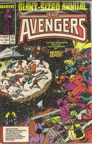 AVENGERS GIANT SIZE ANNUAL ISSUE 16 MARVEL COMICS