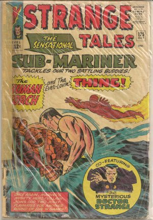 STRANGE TALES ISSUE 125