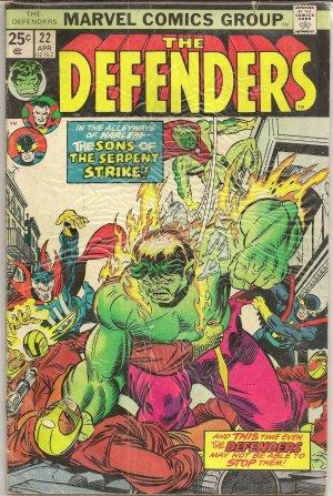 DEFENDERS ISSUE 22 MARVEL COMICS