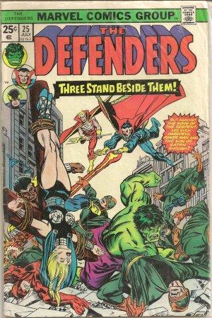 DEFENDERS ISSUE 25 MARVEL COMICS