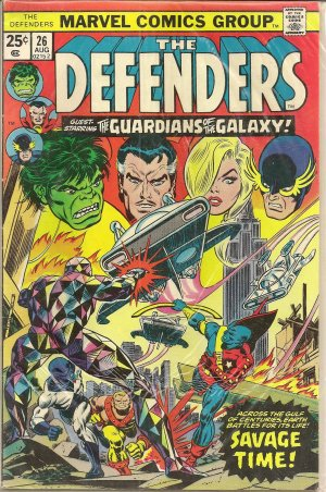 DEFENDERS ISSUE 26 MARVEL COMICS