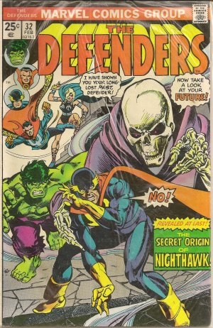 DEFENDERS ISSUE 32 MARVEL COMICS