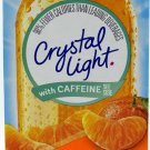 10 10-Packet Boxes Crystal Light Citrus With Caffeine On The Go Drink Mix